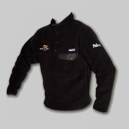 Pullover in pile snap-T Patagonia